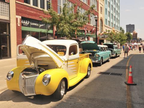 Ce festival et cette exposition automobile soulignent le passé de l'Amérique