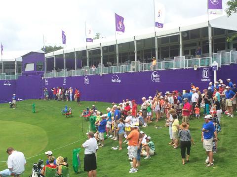Les yeux rivés sur le vert au tournoi de golf FedEx St. Jude Classic