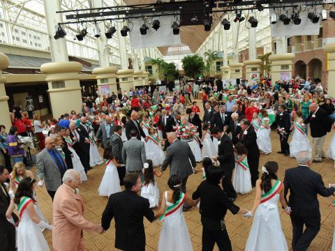 Fête dansante aux couleurs de l'Italie lors de l'Italian Heritage Festival
