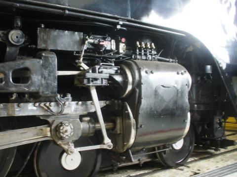 Un train à vapeur d'époque à Cheyenne