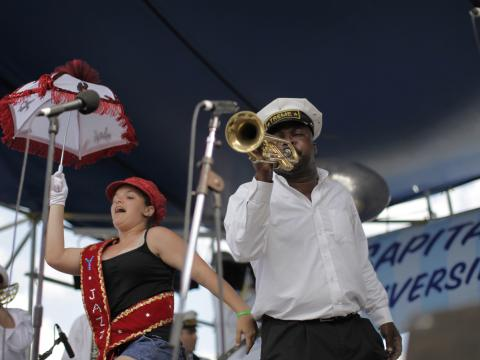 Au rythme de la fanfare du Satchmo Summerfest