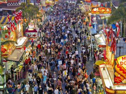 Aperçu haut en couleurs du San Diego County Fair