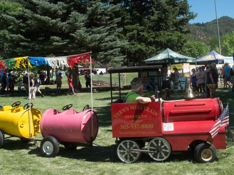 Festivités du Strawberry Days à Glenwood Springs