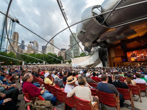 Ambiance feutrée au Festival de jazz de Chicago