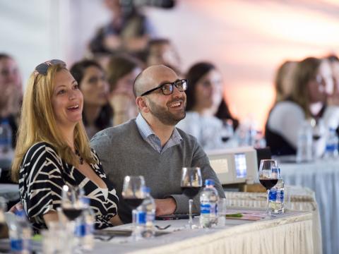 Dégustation de vin et séminaire à l'occasion du festival Kohler Food & Wine Experience