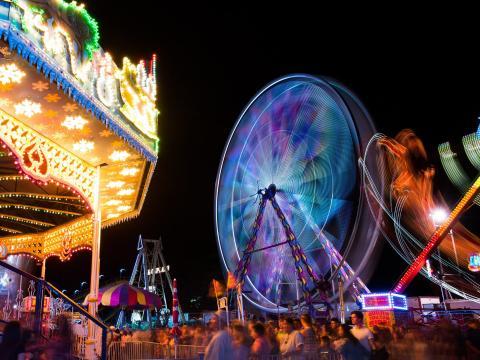 Attractions de la California Mid-State Fair à Paso Robles, Californie